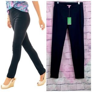 Lilly Pulitzer Alessia Stretch Dinner Pant Black 4